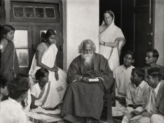 Rabindranath Tagore Santiniketan 1929
