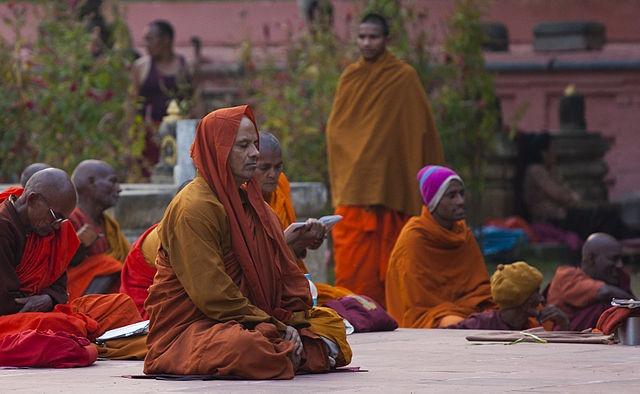 Buddhist-Man-Meditating