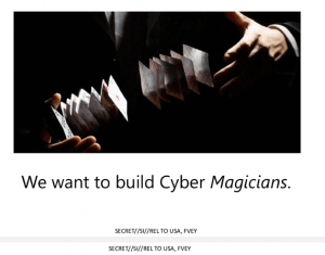 JTRIG Queremos construir cibermagos