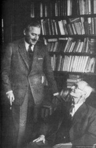 Miguel Serrano y Hermann Hesse