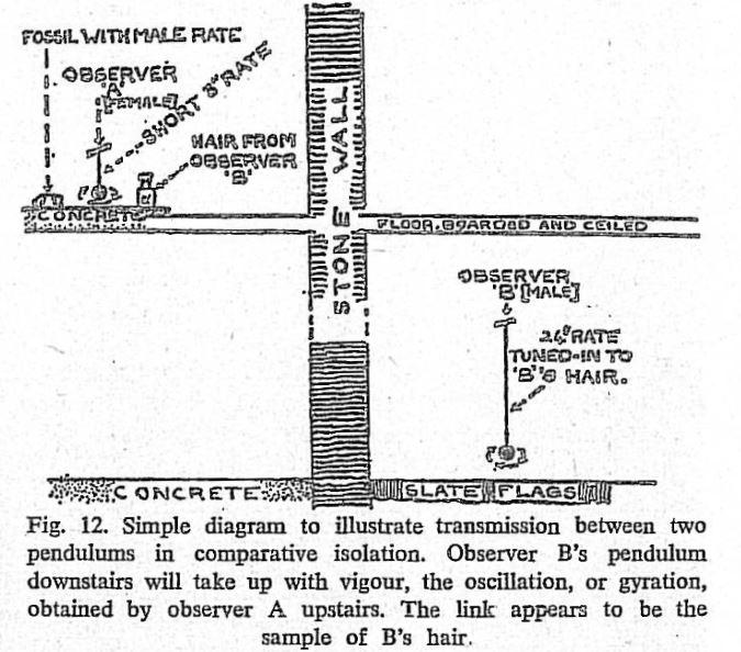 Transmisión entre péndulos - Lethbridge